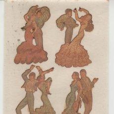 Pegatinas de colección: LOTE A- PEGATINAS CALCAMONIAS AÑOS 60-70. Lote 263712310