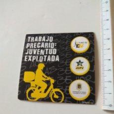 Autocollants de collection: PEGATINA POLÍTICA IZQUIERDA. Lote 223780965