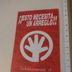 Autocollants de collection: PEGATINA POLÍTICA PARTIDO ANDALUCISTA. Lote 224019801