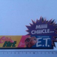 Pegatinas de colección: PEGATINA CHICLE HIT EL CHICLE DE E.T.. Lote 225144850