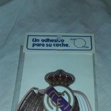 Pegatinas de colección: ADHESIVO PEGATINA FUTBOL REAL MADRID. Lote 262546705