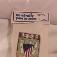 Pegatinas de colección: ADHESIVO PEGATINA FUTBOL A. C. BILBAO. Lote 262547115