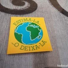 Pegatinas de colección: PEGATINA ESTIMA-LA. Lote 228070690