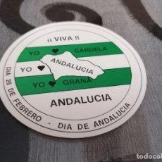 Pegatinas de colección: PEGATINA DEL DÍA DE ANDALUCÍA. Lote 288413193