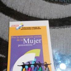 Pegatinas de colección: PEGATINA CCOO POR LA INTEGRACIÓN DE LA MUJER PENSIONISTA. Lote 228837555