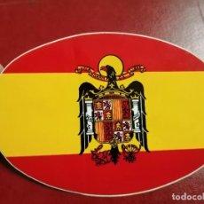 Pegatinas de colección: PEGATINA. BANDERA DE ESPAÑA.. Lote 229385390