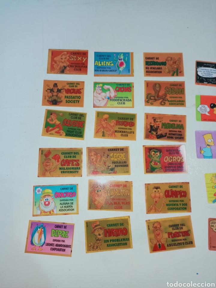Pegatinas de colección: Lote de 36 pegatinas bollycao,bimbo y man - Foto 3 - 230498895
