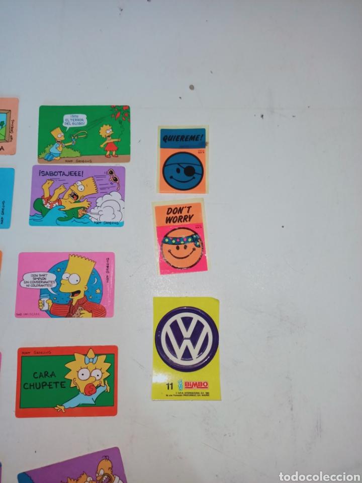 Pegatinas de colección: Lote de 36 pegatinas bollycao,bimbo y man - Foto 4 - 230498895