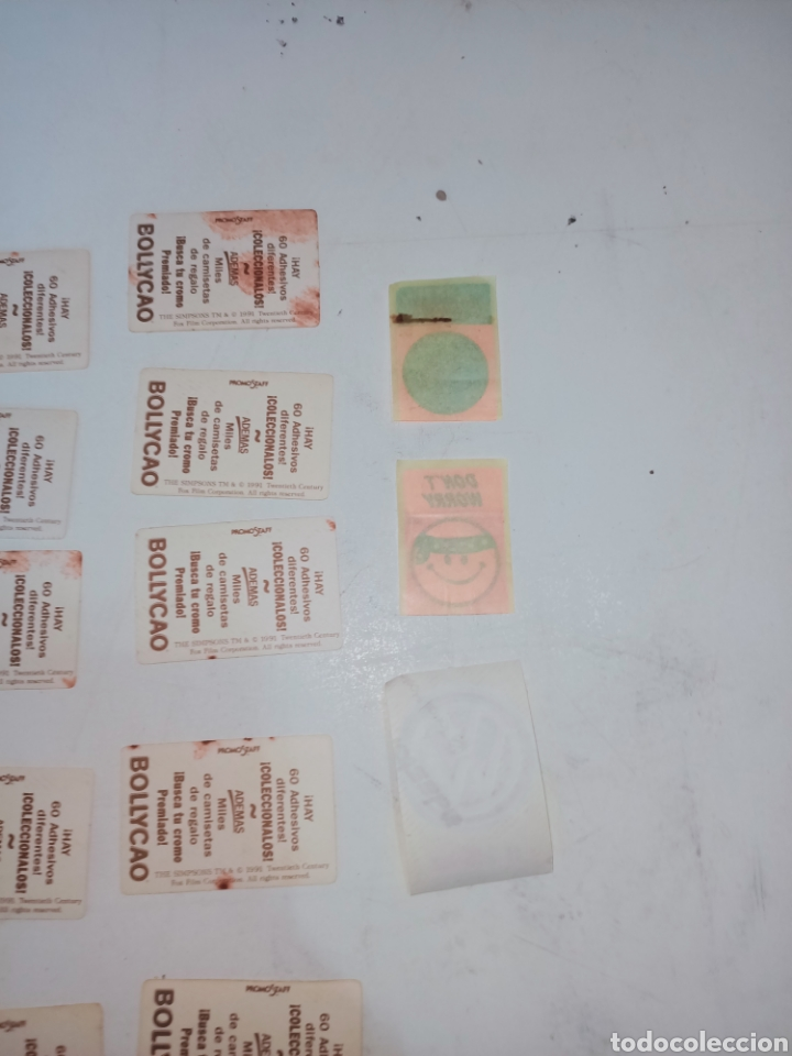 Pegatinas de colección: Lote de 36 pegatinas bollycao,bimbo y man - Foto 8 - 230498895