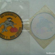 Pegatinas de colección: AVIACION : PEGATINA DE LA 603 ESCUADRILLA . VISTA, SUERTE Y ... MANO IZQUIERDA . LEER DESCRIPCION. Lote 245748885