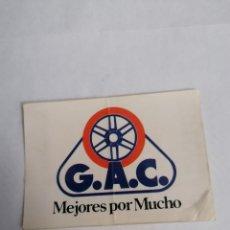 Pegatinas de colección: PEGATINA G.A.C. BICICLETAS & BOLLYCAO. Lote 231653270