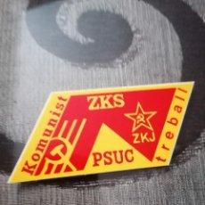 Pegatinas de colección: PEGATINA ZKZ ZKJ PSUC. Lote 231788925