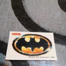 Pegatinas de colección: PEGATINA BATMAN ESCUDO FIESTA. Lote 232387390