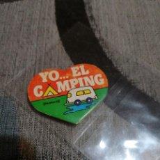 Pegatinas de colección: PEGATINA YO EL CAMPING DE PANRICO. Lote 232389475