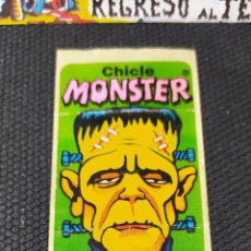 Pegatinas de colección: CHICLE MONSTER - ADHESIVO - CROMO - BUEN ESTADO - NO SUPER MONSTRUOS - NO TERROR - NO DIABÓLICO. Lote 232868942