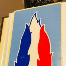 Pegatinas de colección: ANTIGUA PEGATINA POLÍTICA NACIONAL REVOLUCIONARIA,CRUZ CÉLTICA,FRENTE NACIONAL FRANCIA,FRANCE. Lote 233158850