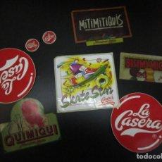 Pegatinas de colección: LA CASERA / PEGATINAS / LOTE 8 ( 3 SIN PEGAR). Lote 233300820
