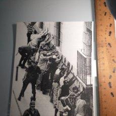 Pegatinas de colección: GRAN PEGATINA POLITICA - AÑOS 80 ESKORBUTO PUNK - MUCHA POLICIA POCA DIVERSION. Lote 234796595
