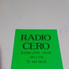 Adesivi di collezione: PEGATINA ADHESIVO RADIO EMISORA RADIOS. Lote 235999740