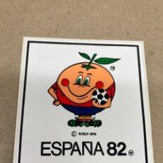 Pegatinas de colección: PEGATINA NARANJITO ESPAÑA 82. Lote 236350140