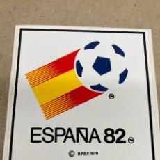 Pegatinas de colección: PEGATINA ESPAÑA 82 NUNDIAL FUTBOL. Lote 236398800