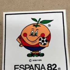 Pegatinas de colección: PEGATINA DE NARANJITO MUNDIAL ESPAÑA 82. Lote 236400960