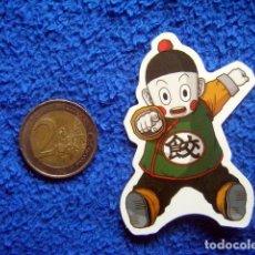 Pegatinas de colección: PEGATINA CHAOZ PEQUEÑO DRAGONBALL SONGOKU DRAGON BALL Z GT STICKER. Lote 236791110