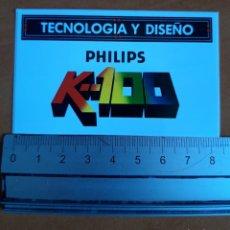 Pegatinas de colección: PEGATINA PHILIPS ELECTRÓNICA AÑOS 80'. Lote 236792555