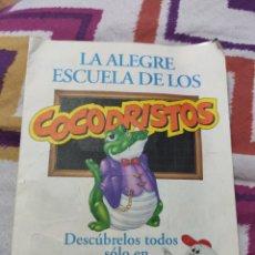 Pegatinas de colección: COCODRISTOS. Lote 236973635