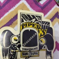 Pegatinas de colección: PEGATINAS PIPER'S TORREMOLINOS. Lote 236975210
