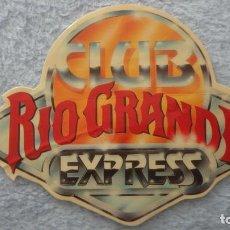Pegatinas de colección: ANTIGUA PEGATINA CLUB RIO GRANDE EXPRESS.. Lote 236981465
