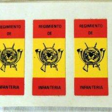 Pegatinas de colección: PEGATINA - STICKER : REGIMIENTO DE INFANTERIA. Lote 237111690