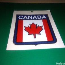 Adesivi di collezione: ANTIGUA PEGATINA CANADÁ. LA VENDÍAN EN LA EXPO 92 DE SEVILLA. Lote 239912255