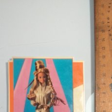 Pegatinas de colección: PEGATINA BARBIE MATTEL 1987 - SIN PEGAR CON TRASERA - CLUB MIL PEINADOS. Lote 240414745
