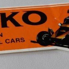 Pegatinas de colección: PEGATINA NIKKO RADIO CONTROL CARS. Lote 240864450