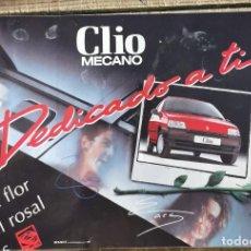 "Pegatinas de colección: ANTIGUA PEGATINA ""CLIO MECANO"". Lote 244403990"