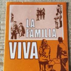 """Pegatinas de colección: ANTIGUA PEGATINA """"I SEMANA DE LA FAMILIA - VALLADOLID"""". Lote 244410225"""