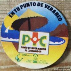 "Pegatinas de colección: ANTIGUA PEGATINA ""PUNTO DE INFORMACIÓN AL CONSUMIDOR - JUNTA DE ANDALUCÍA"". Lote 244412525"
