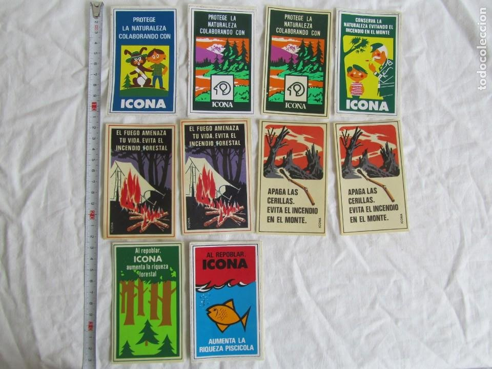 Pegatinas de colección: 26 pegatinas ICONA años 80 - Foto 2 - 244511515