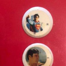 Pegatinas de colección: CHAPAS COCACOLA SUPERMAN. Lote 244758860