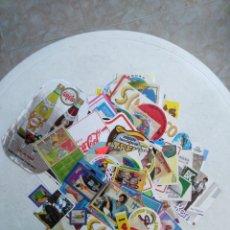 Pegatinas de colección: LOTE DE 130 PEGATINAS VARIADAS. Lote 245288610
