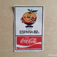 Pegatinas de colección: PEGATINA ESPAÑA 82 BEBA COCA-COLA. Lote 245582865