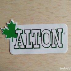 Pegatinas de colección: PEGATINA ALTON. Lote 245583360