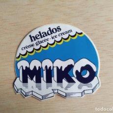 Pegatinas de colección: PEGATINA HELADOS MIKO. Lote 245583515