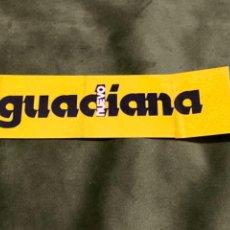 Pegatinas de colección: ANTIGUA PEGATINA NUEVO GUADIANA. Lote 245717425