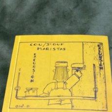 Pegatinas de colección: ANTIGUA PEGATINA EXCURSIÓN MARISTAS BADAJOZ COU. Lote 245717850