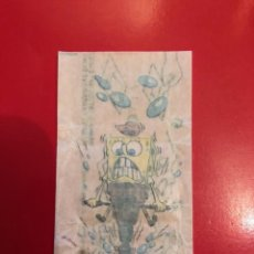 Pegatinas de colección: PEGATINAS CROMOS CHICLE BOOMER BOB ESPONJA. Lote 245988260