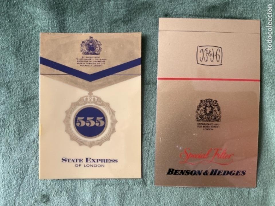 ANTIGUAS PEGATINAS STATE EXPRESS LONDON 555 B&H (Coleccionismos - Pegatinas)