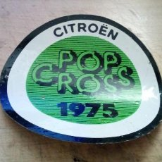 Pegatinas de colección: PEGATINA CITROEN POP CROS 1975. Lote 247473375