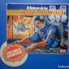 Pegatinas de colección: ADHESIVO - STICKER - EL RETORNO DE LOS MADELMAN 2050 - EXIN - 11 X 10,5 CM. Lote 251440040